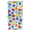 Disney Beach Towel - Colorful Mickey Icons