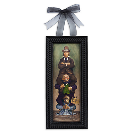 Disney Framed Giclee The Haunted Mansion Quicksand