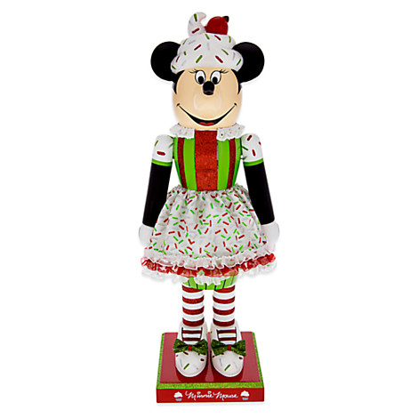 Disney Nutcracker Figure- Minnie Mouse Cupcake - 14