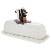 Disney Butter Dish - Bambi - Flower