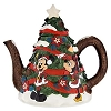 Disney Teapot - Santa Mickey & Friends Warm Winter Wishes