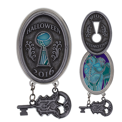 Disney Pin - Halloween 2016 - Haunted Mansion Key - Opera Singers