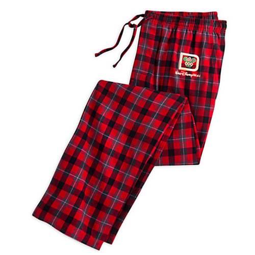 Christmas Pajama Pants.Disney Christmas Lounge Pants Walt Disney World Plaid