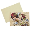Disney Holiday Card Set -Victorian Mickey and Minnie 5x7