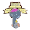 Disney Dumbo Pin - Dumbo 75th Anniversary - Jumbo and Dumbo