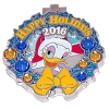 Disney Resort Holidays Pin 2016 - Contemporary Daisy Duck