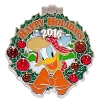 Disney Resort Holidays Pin 2016 - Wilderness Lodge Donald Duck
