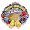 Disney Resort Holidays Pin 2016 - Port Orleans Louis the Alligator