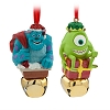 Disney Jingle Bell Ornament Set - Monsters Inc - Mike and Sulley