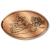 Disney Pressed Penny - Mickey and Goofy Riding Splash Mountain