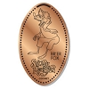 Disney Pressed Penny - Br'er Fox Splash Mountain