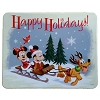 Disney Parks Happy Holidays Tin - Christmas Peppermint Bark