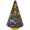 Disney Holiday Cookie Tin - Santa Mickey and Friends Musical Tree