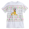 Disney Adult Shirt - Santa Pluto Sweater Design Tee