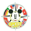 Disney Epcot Pin - Mickey Flags