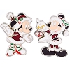 Disney 2 Pin Set - Mickey & Minnie Holiday Dress