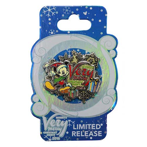 5393be33a3472 Add to My Lists. Disney Very Merry Christmas Party Pin - Santa ...