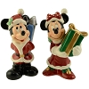 Disney Salt & Pepper Shakers - Santa Mickey & Minnie