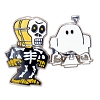 Disney Halloween Pin - Star Wars - R2-D2 Ghost C3PO Skeleton