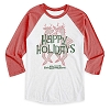 Disney Adult Shirt - Silly Reindeer Raglan Tee - Limited Release