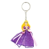 Disney Keychain - Tulle Dress - Tangled Princess Rapunzel