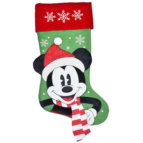 disney christmas stocking woodland friends mickey mouse - Mickey Mouse Christmas Stocking