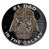 Disney Star Wars Pin - #1 Dad In The Galaxy - Vader