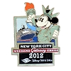 Disney Cruise Line Pin - New York - Weekend Getaway 2012