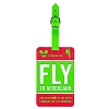 Disney Luggage Tag - Travel and Gear - Fly to Neverland Airline Tag