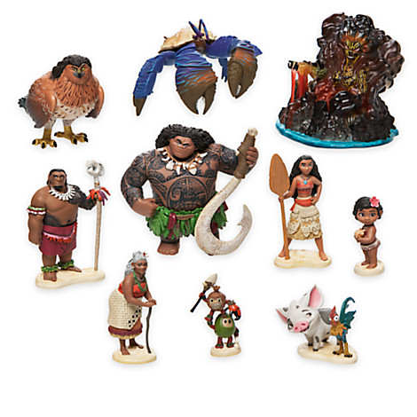 Disney Playset - Moana - Deluxe Figure Play Set