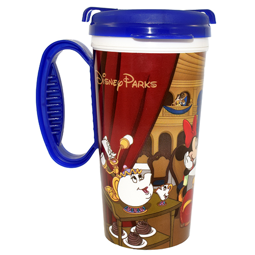 Disney Thermal Travel Mug Cup Be Our Guest Mickey And Pals