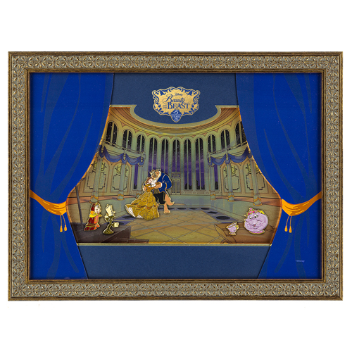 Your WDW Store - Disney Framed Pin Set - Beauty and the Beast - 25 ...