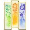Disney Magnet - Watercolor Princesses Ariel, Belle, Cinderella
