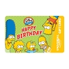 Universal Collectible Gift Card - The Simpsons - Happy Birthday