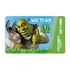 Universal Collectible Gift Card - Shrek 4-D - Way To Go