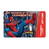 Universal Collectible Gift Card - Spider-Man - Congratulations