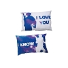 Disney Pillowcases - Star Wars I Love You I Know Leia Han Solo
