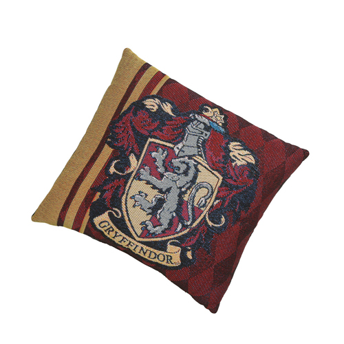 Harry Potter Woven Tapestry Pillow - Gryffindor Crest