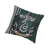 Harry Potter Woven Tapestry Pillow - Slytherin Crest