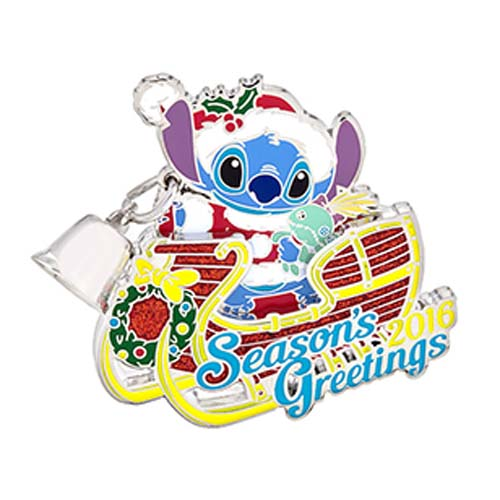 Disney Season's Greetings Pin - 2016 Stitch