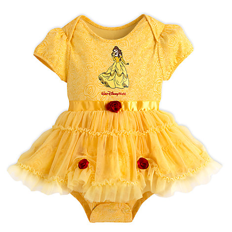 Disney Baby Bodysuit - Belle Costume Bodysuit for Baby - Yellow  sc 1 st  Your WDW Store & Your WDW Store - Disney Baby Bodysuit - Belle Costume Bodysuit for ...