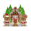 Disney Christmas Countdown Pin - Mickey & Minnie Gingerbread Jumbo Pin