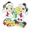 Disney Christmas Day Pin - Merry Christmas 2016 Mickey & Minnie Mouse