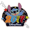 Disney Annual Pin - 2017 Logo - Stitch