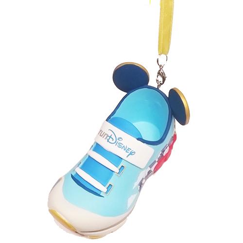 2018 RunDisney WDW Half Marathon Weekend Shoe Ornament Run Disney KEYCHAIN