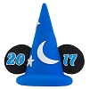 Disney Antenna Topper - 2017 Logo - Sorcerer Mickey Mouse Hat