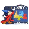 Disney Photo Frame Magnet - 2017 Sorcerer Mickey Logo