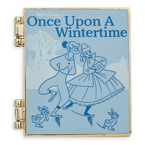 Disney Storybook Classics Pin Once Upon A Wintertime December 2016
