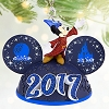 Disney Christmas Ornament - 2017 Sorcerer Mickey Light-Up Ear Hat