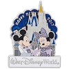 Disney New Year Pin - Happy New Year 2017 - Mickey Minnie